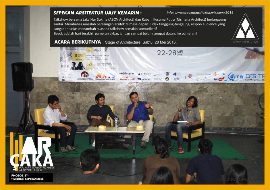 Sepekan Arsitektur Atma Jaya Yogyakarta